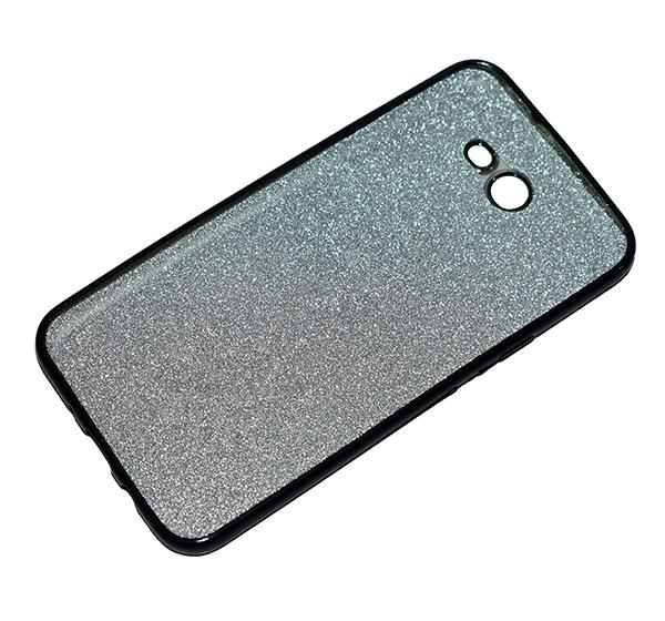 Samsung Galaxy J720 - Premium Quality Glitter Mobile Cover - Black - Hiffey
