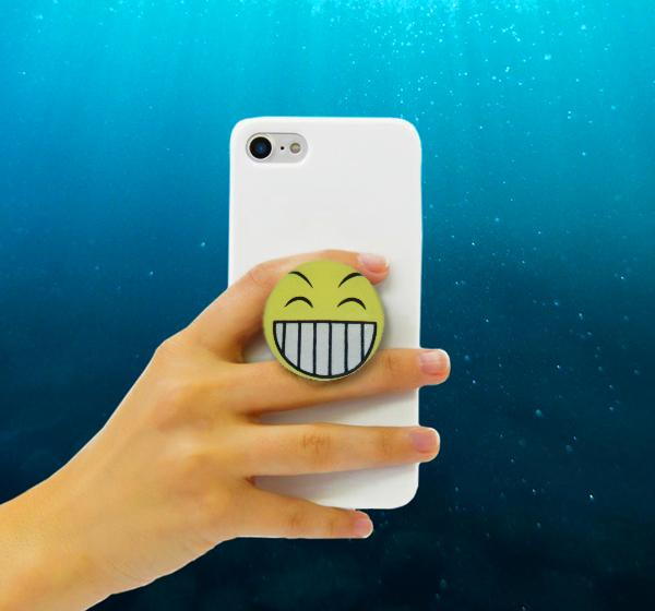 Pop Socket - Excited Laughing Face Emoji - Hiffey