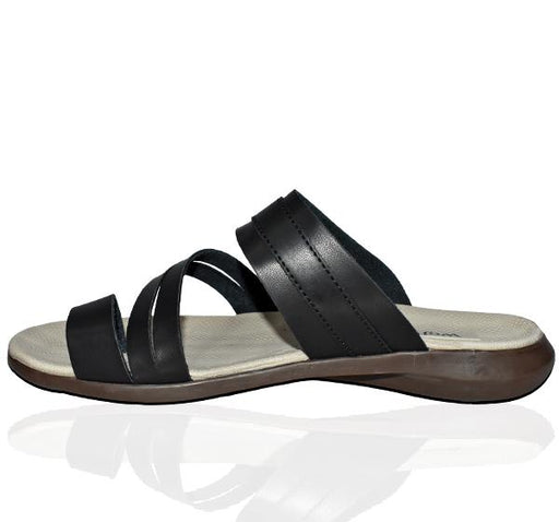 Men Comfortable Chappal - Black