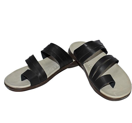 Men Comfortable Chappal - Black - Hiffey