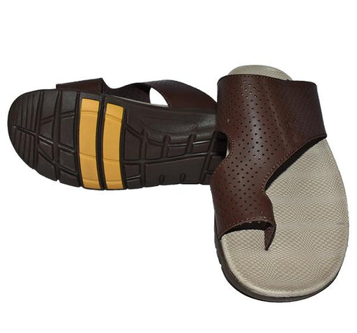 Men Comfortable Chappal - Brown