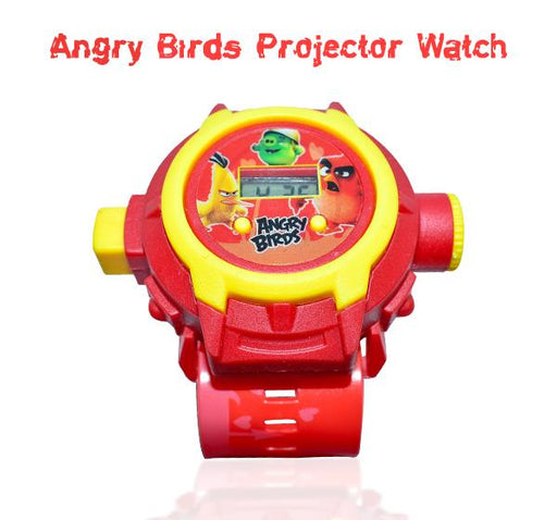 Chuck Angry Birds Projector Watch For Kids - Hiffey