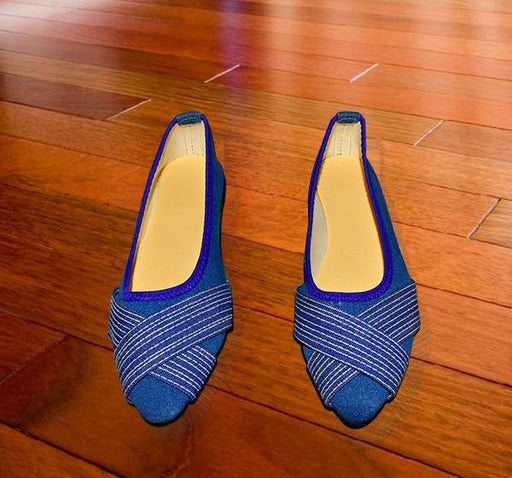 Blue Cross Style Ladies Pumps - Hiffey