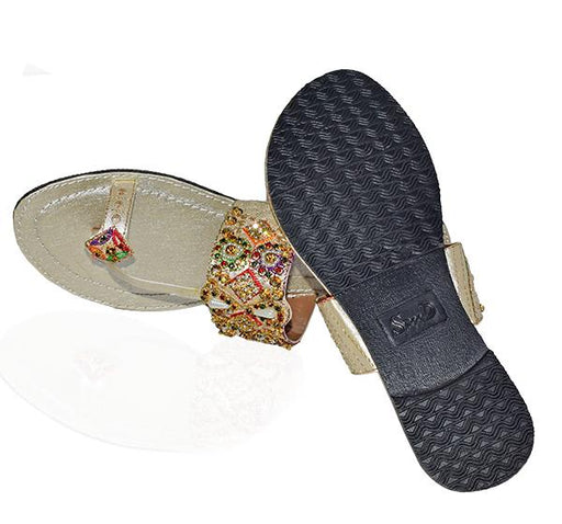 Fashionable thumb Style Slipper For Ladies - Hiffey