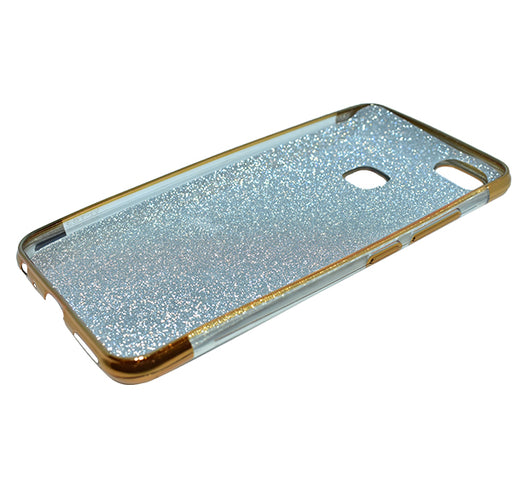 Vivo Y83 - Premium Quality Glitter Mobile Cover - Golden - Hiffey