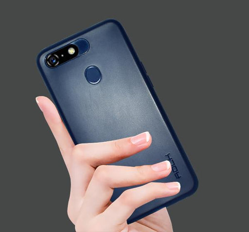 Lenovo A5 - High Quality Mobile Back Cover - Blue - Hiffey