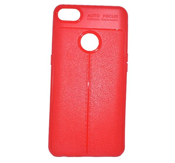 Infinix X606 High Quality Mobile Back Cover - Red - Hiffey