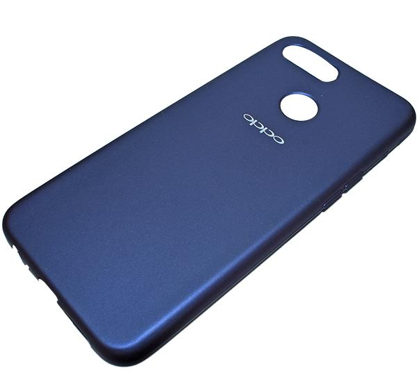 Oppo F9 - High Quality Mobile Back Cover - Blue - Hiffey