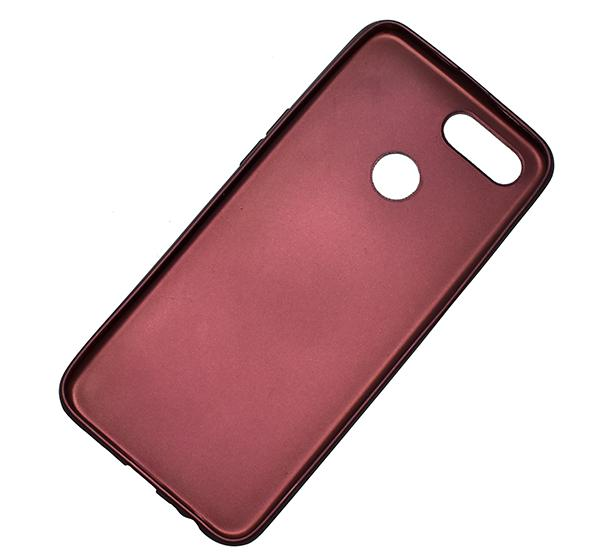 Oppo F9 - High Quality Mobile Back Cover - Brown - Hiffey