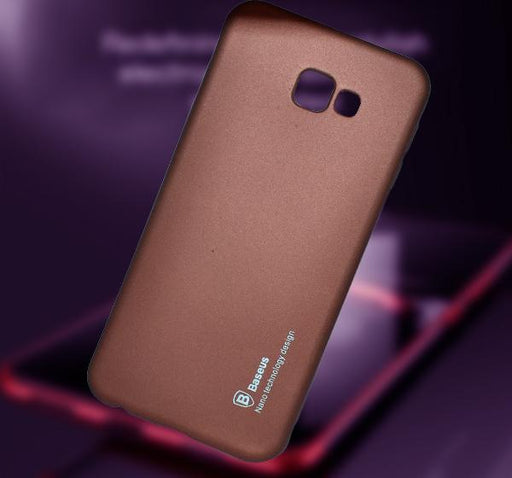 Samsung Galaxy J4 Core - High Quality Mobile Back Cover - Brown - Hiffey