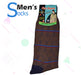 Fire Stone Brown Socks for Men - Hiffey