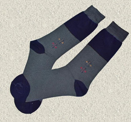 Durable Cotton Socks For Men - Gray - Hiffey