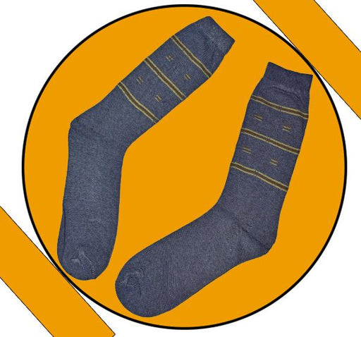 Finest Quality Comely Men Cotton Socks - Gray - Hiffey