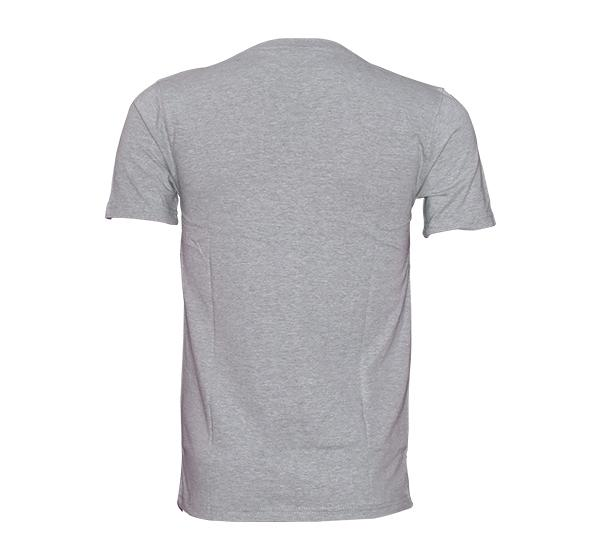 New Summer Slim Fit O Neck T-Shirt For Men - Gray - Hiffey