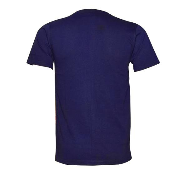 New Summer Slim Fit O Neck T-Shirt For Men - Navy Blue - Hiffey