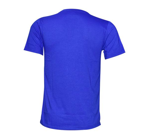 Slim Fit CK-Jeans Printed O Neck T-Shirt For Men - Blue - Hiffey
