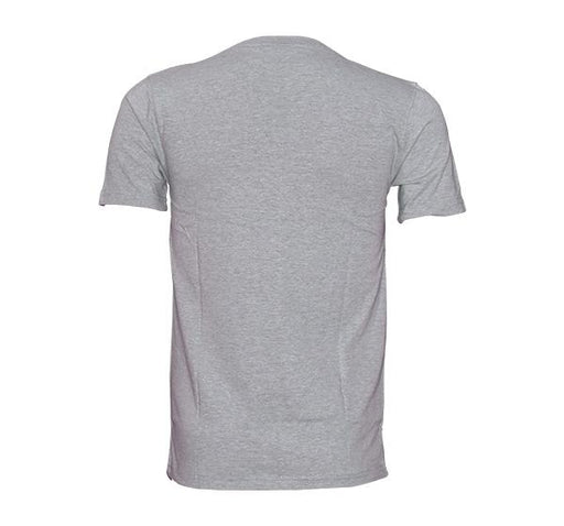 Slim Fit CK-Jeans Printed O Neck T-Shirt For Men - Gray - Hiffey