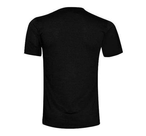 Double Shaded Ripped T-Shirt For Men - Black - Hiffey