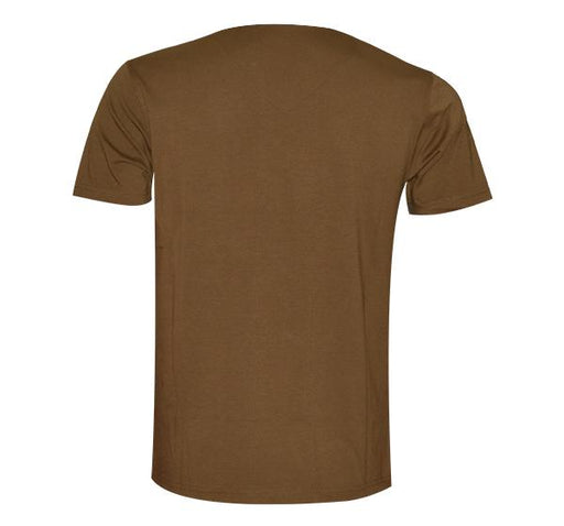 Double Shaded Ripped T-Shirt For Men - Brown - Hiffey