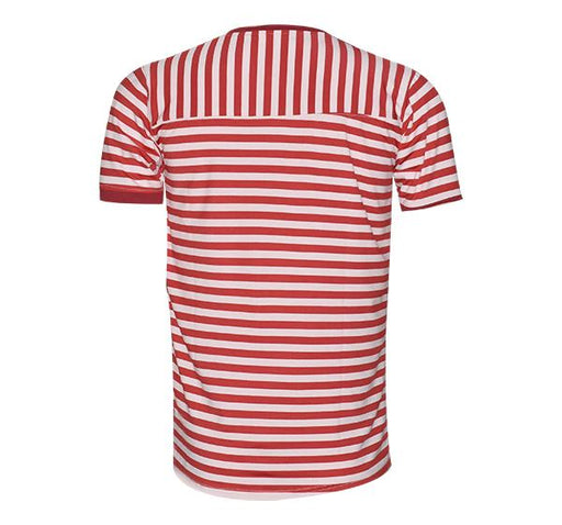 Classic Fashion Lining T-Shirt For Men - Red - Hiffey