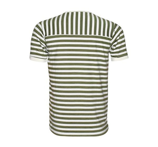 Classic Fashion Lining T-Shirt For Men - Green - Hiffey