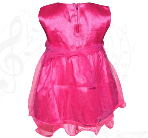 Fairy Frock Lace With Net Frill - Magenta - Hiffey