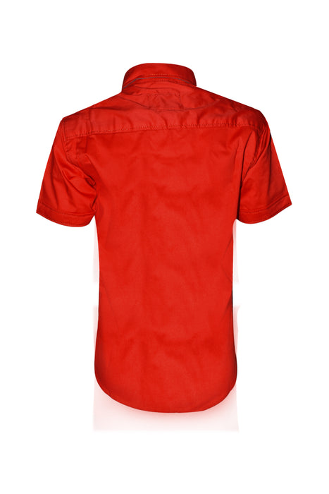 Red Casual Shirt for Boys - Hiffey