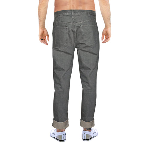 Casual Jeans For Men - Dark Grey - Hiffey