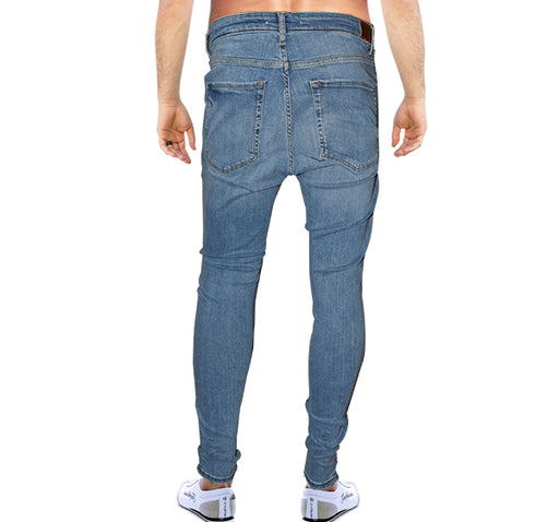 Extrem Flex Jeans For Men - Blue - Hiffey