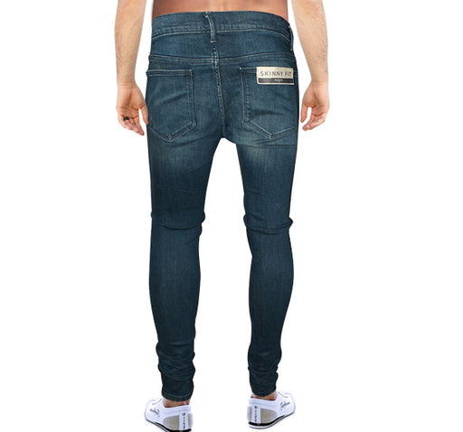Flexi Slim Men Blue Jeans - Hiffey