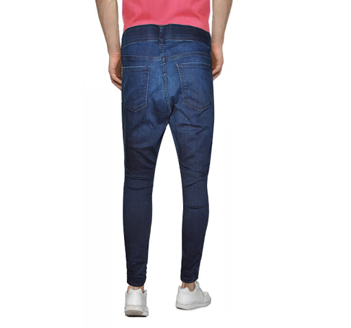 Casual Jeans For Men - Dark Blue - Hiffey