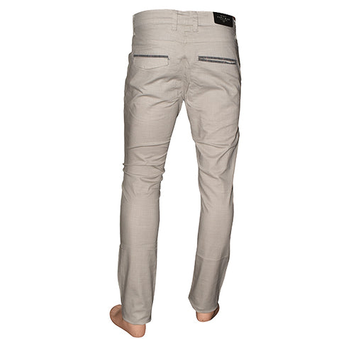 Slim Fit Cotton Chino Pant For Men - Sand - Hiffey