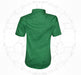 Plain Cotton Shirt For Boys - Green - Hiffey