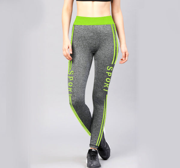 8dddf2b3a6 Green Sports Lined Legging Yoga Pants for Her