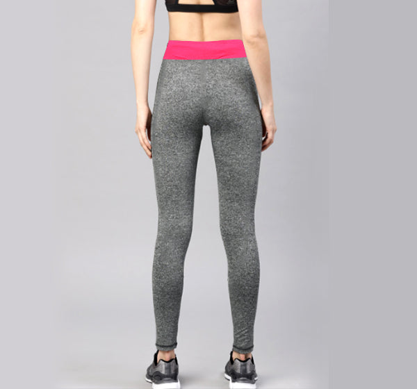 Pink Shaded Sports Legging Yoga Pants for Her - Hiffey