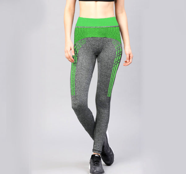 Green Sports Legging Yoga Pants for Her - Hiffey