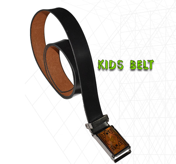 Adjustable Stretch Belt For Kids - Black - Hiffey