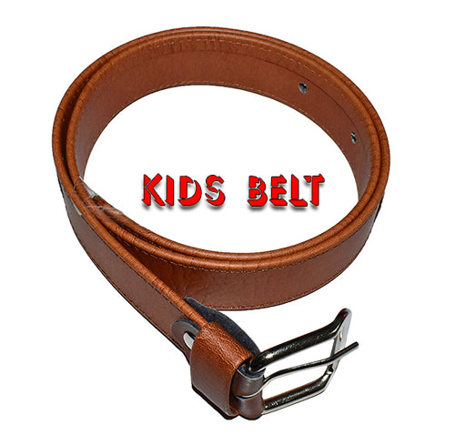 Casual Belt For Kids - Brown - Hiffey