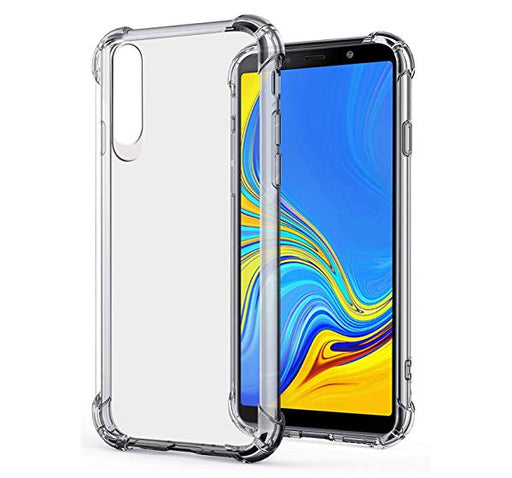 See Through Mobile Back Cover For Samsung Galaxy A50 - Transparent - Hiffey