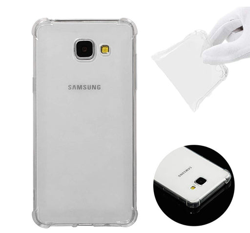 Anti Shock See Through Mobile Back Cover For Samsung Galaxy J4 Core - Transparent - Hiffey