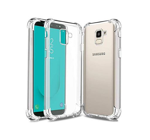 See Through Mobile Back Cover For Samsung Galaxy J6 - Transparent - Hiffey