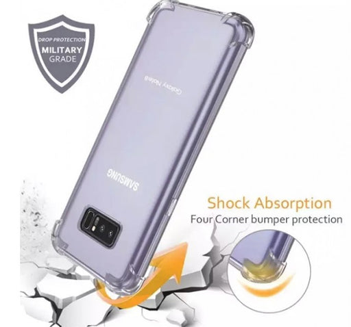 See Through Mobile Back Cover For Samsung Galaxy S8 Plus - Transparent - Hiffey