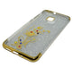 Huawei P10 Lite Beads Shiny Textured Mobile Back Cover - Golden - Hiffey