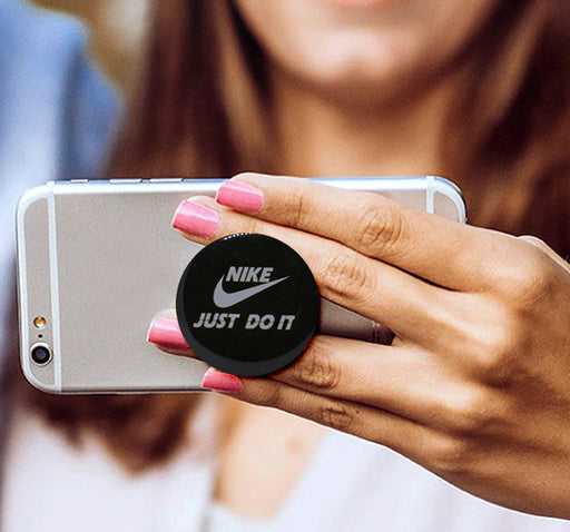 Pop Socket Nike Just Do It Logo - Black - Hiffey