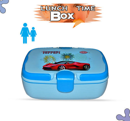 Ferrari Lunch Box For Kids - Sky Blue - Hiffey