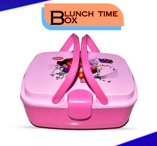 Dora Explorer Lunch Box For Kids - Pink - Hiffey