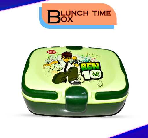 Ben 10 School Lunch Box For Kids - Green - Hiffey