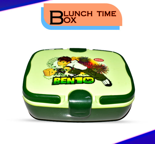 Ben 10 Alien Force Lunch Box For Kids - Green - Hiffey