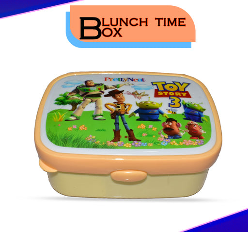 Toy Story 3 School Lunch Box For Kids - Cream - Hiffey
