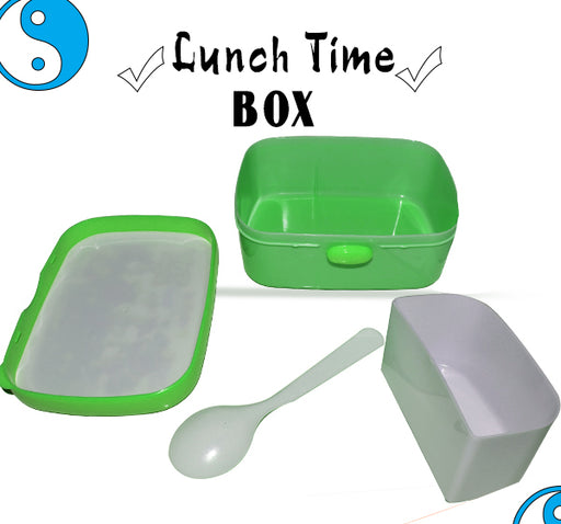 Ben 10 Race Against Time Lunch Box For Kids - Green - Hiffey